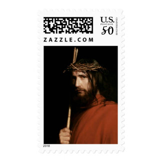 Christ with Thorns by Carl Bloch. Postage Stamps