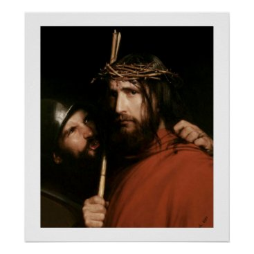 oldandclassic Christ with Thorns by Carl Bloch. Poster