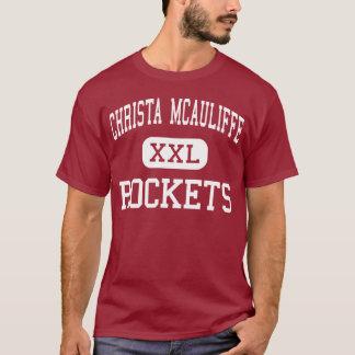 Christa McAuliffe - Rockets - Middle - San Antonio T-Shirt