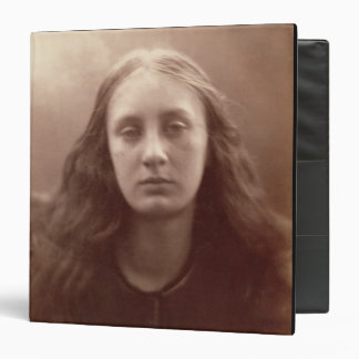 Christabel, portrait of May Prinsep, c.1867 (sepia Binder