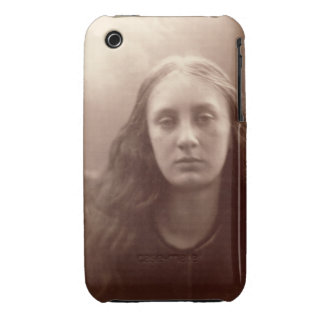 Christabel, portrait of May Prinsep, c.1867 (sepia iPhone 3 Cover