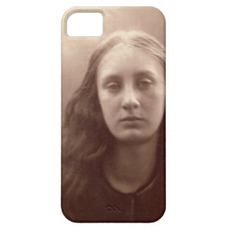 Christabel, portrait of May Prinsep, c.1867 (sepia iPhone SE/5/5s Case