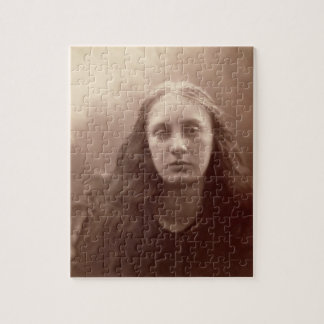 Christabel, portrait of May Prinsep, c.1867 (sepia Puzzle