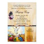 "Christain Baby Shower Invitation 24 5"" X 7"" Invitation Card"