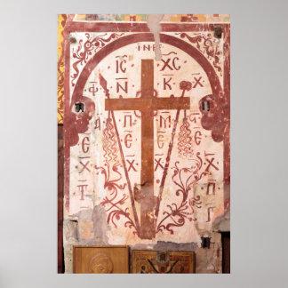 Christain Cross Artwork Poster