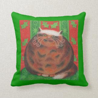 Christamas Pud throw pillow