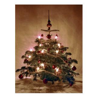 Christbaum/árbol de navidad postal