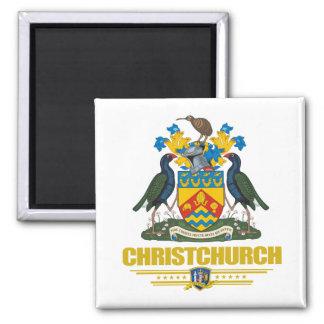Christchurch 2 Inch Square Magnet