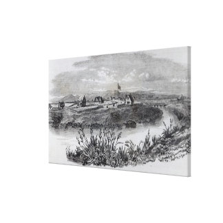 Christchurch, Canterbury Colony, New Zealand Canvas Print