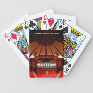 Christchurch Town Hall Bicycle Playing Cards