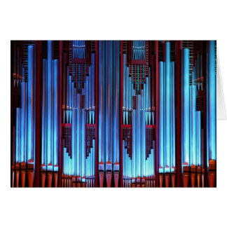 Christchurch Town Hall organ Card