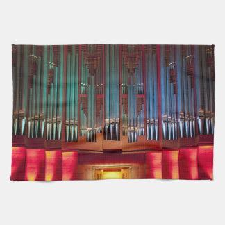 Christchurch Town Hall organ towel