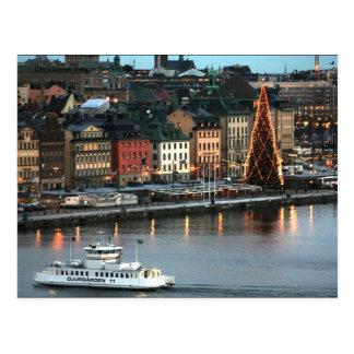 Christemas tree in Stockholm, Ph... Postcard