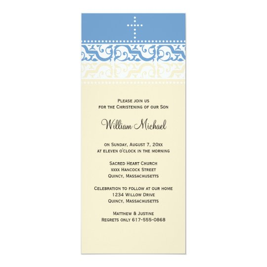 Christening / Baptism Invitation - Personalize