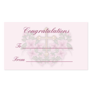 Christening,Communion gift tag1 Business Card