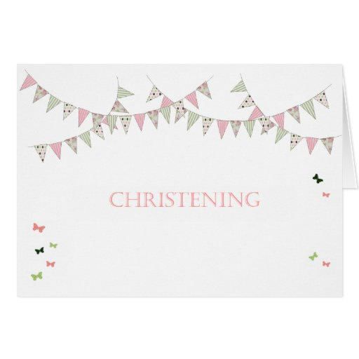Christening Greeting Cards