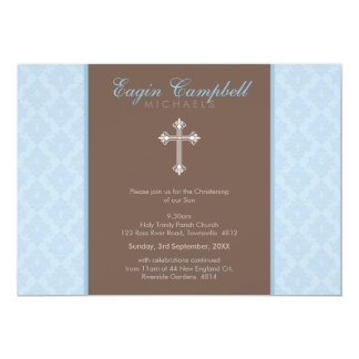 "CHRISTENING INVITES :: oh so beautiful 2L 5"" X 7"" Invitation Card"