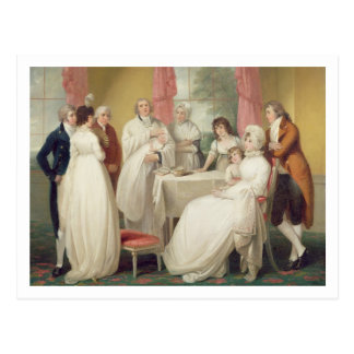 Christening of the Heir, c.1799 (oil on canvas) se Postcard
