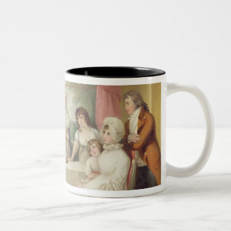 Christening of the Heir, c.1799 (oil on canvas) se Two-Tone Coffee Mug