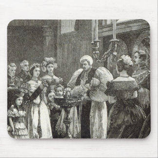 Christening of the Princess Louise Mouse Pad