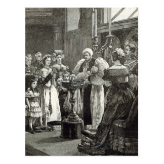 Christening of the Princess Louise Postcard