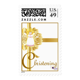 Christening! Postage-Customize Postage Stamps