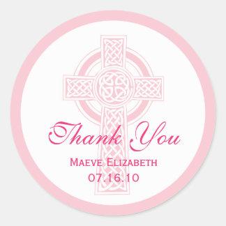 Christening, Shower or First Communion Sticker