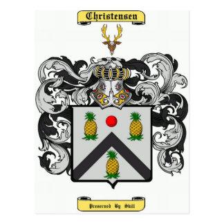 christensen postcard