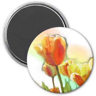 Christi Werner sunshine tulip magnet