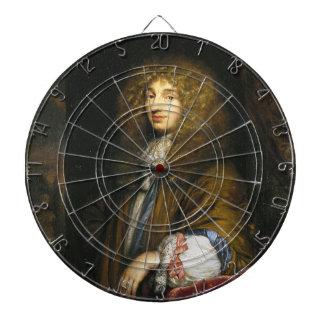 Christiaan Huygens Portrait by Bernard Vaillant Dart Boards