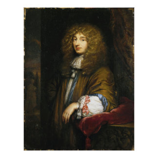 Christiaan Huygens Portrait by Bernard Vaillant Posters