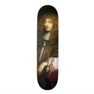 Christiaan Huygens Portrait by Bernard Vaillant Skateboard Deck