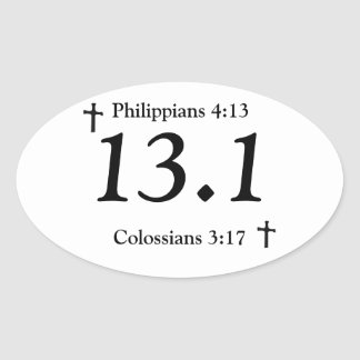 Christian 13.1 Sticker