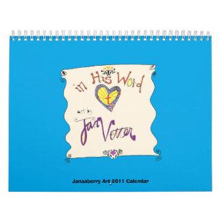 Christian 2011 Calendar