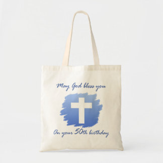 Christian 50th Birthday Gifts Tote Bag