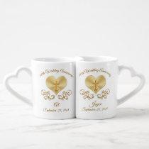 Christian 50th Wedding Anniversary Gift Ideas Coffee Mug Set