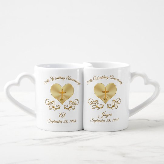 Gifts For 50th Wedding Anniversary Ideas: Christian 50th Wedding Anniversary Gift Ideas Coffee Mug