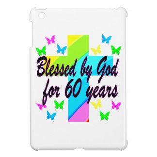 CHRISTIAN 60 BIRTHDAY CROSS DESIGN COVER FOR THE iPad MINI