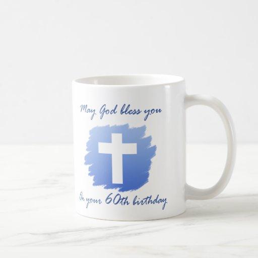 Christian 60th Birthday Gifts Coffee Mugs