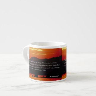 Christian 6 Oz Ceramic Espresso Cup