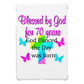 CHRISTIAN 70TH BIRTHDAY COVER FOR THE iPad MINI