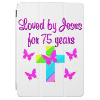 CHRISTIAN 75TH PERSONALIZED BIRTHDAY DESIGN iPad AIR COVER