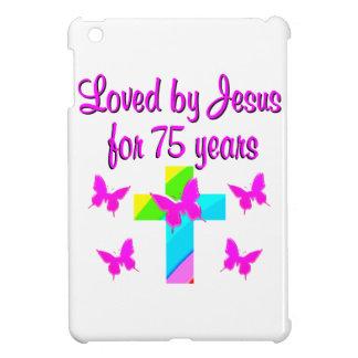 CHRISTIAN 75TH PERSONALIZED BIRTHDAY DESIGN iPad MINI COVERS