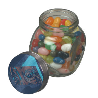Christian Abstract Art: The Plight of Loyalty Jelly Belly Candy Jar