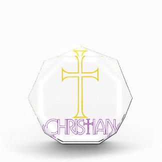 Christian Acrylic Award