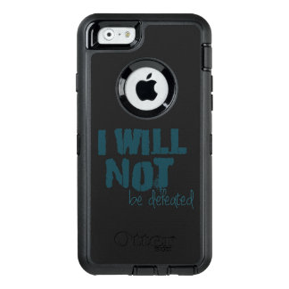 Christian Affirmation I WILL NOT BE DEFEATED OtterBox Defender iPhone Case