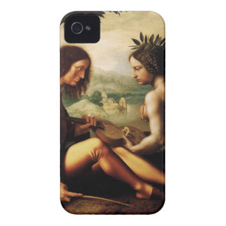 Christian Allegory by Jan Provoost iPhone 4 Case