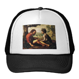 Christian Allegory by Jan Provoost Trucker Hat