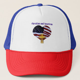 Christian AND American Trucker Hat