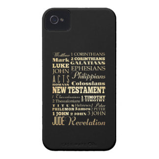 Christian Art - Books of the New Testament. iPhone 4 Case-Mate Case